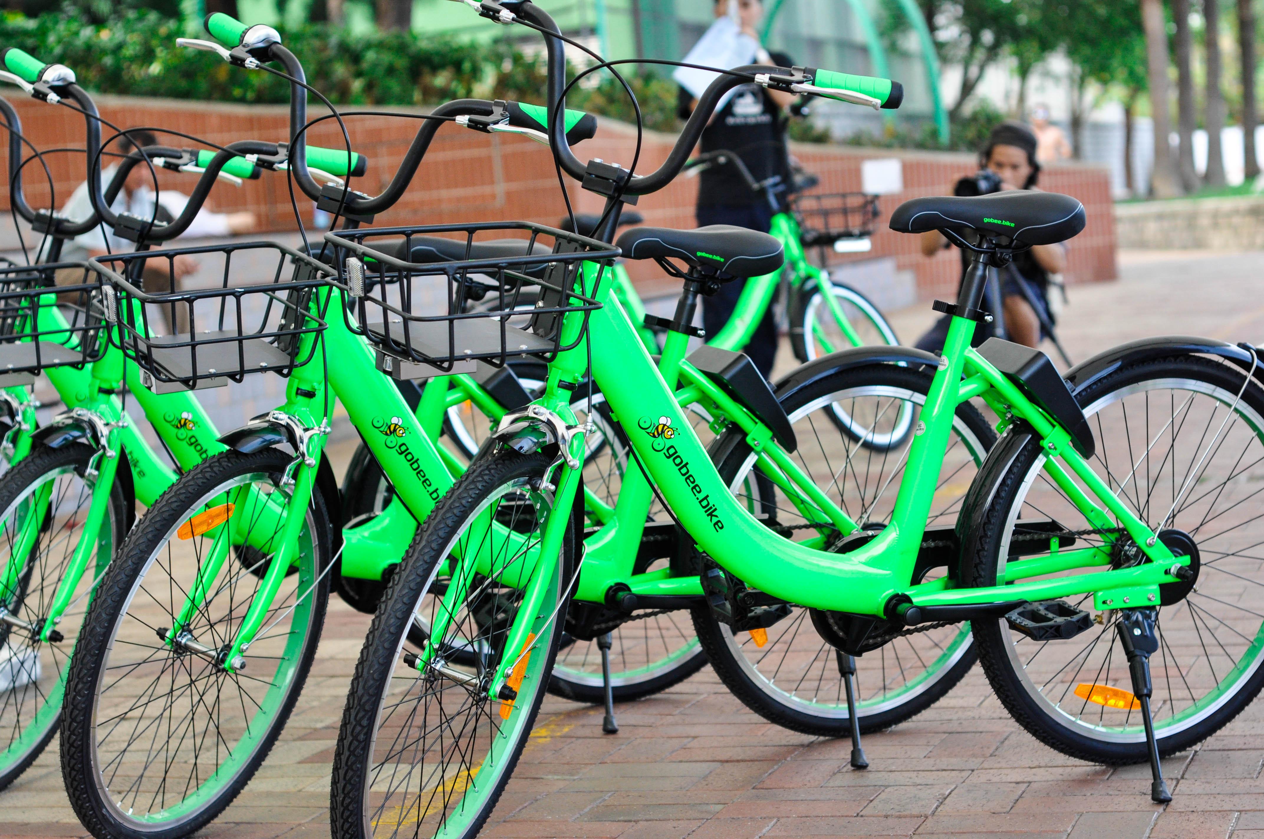 Vélo en libre sévice