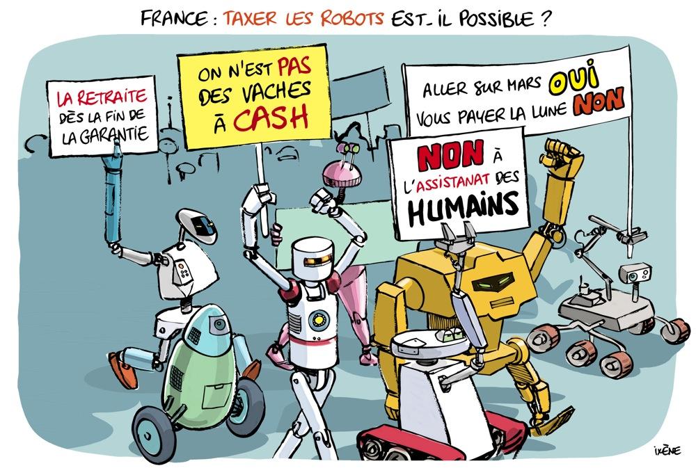 Tiens, revoilà la taxe sur les robots