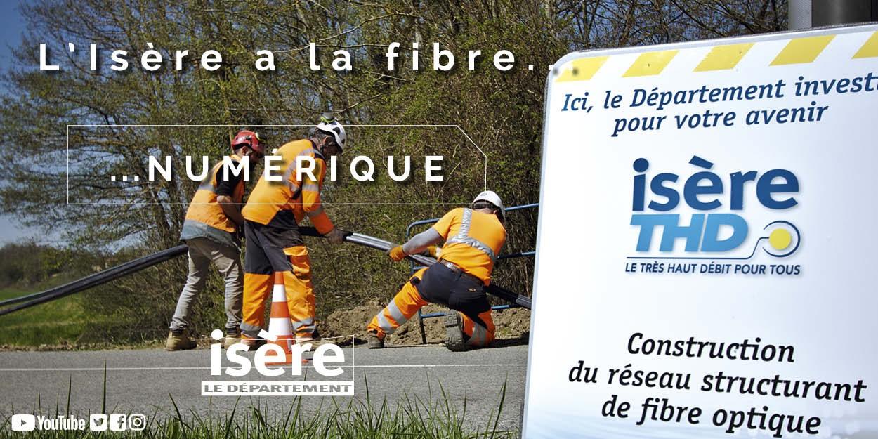 Très Haut Débit en Isère : un investissement pour changer de siècle